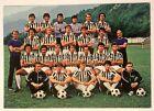 Cartoncino Hurrà Juventus Squadra 1979-80 Retro Con Firme Stampate