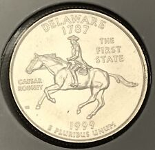 1999 DELAWARE STATE QUARTER. COLLECTOR COIN FOR YOUR COLLECTION OR SET.