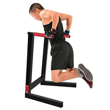 Heavy Duty Steel Dip Stand Parallel Bar Fitness Home Gym Dipping Station 440LBs