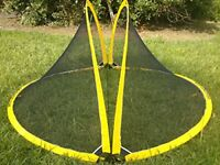 Most Wanted Birthday Present 2 X Portable Football Gate Soccer Goal Pop Up Net