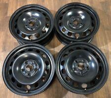 4x VW Golf VII 7 Audi A3 Skoda Octavia Stahlfelgen 6J x 16 Zoll 5Q0601027Q F1313