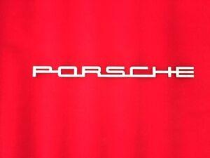 Porsche Steel Badge 356 550 912 911 914 Speedster RSR Turbo GT Classic German