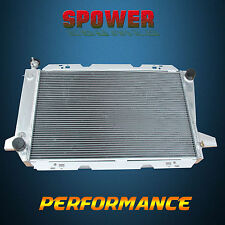 3 Row For Ford F150 F250 F350 Bronco V8 AT MT Aluminum Radiator 1983-1997 + Cap