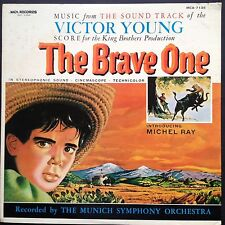 Rare! Victor Young THE BRAVE ONE soundtrack LP 1956 RKO Michel Ray Jack Cardiff