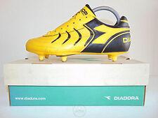 Vintage 80 90 DIADORA Torneo SC 42 Scarpe Calcio 8 Soccer Boots Italy Six Studs