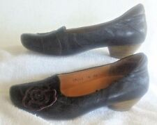 Women's Size EU 36, US 5-5 ½, THINK Brown Leather Pump, Made in Italy