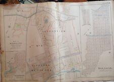 Orig 1898 Staten Island Great Kills Giffords By The Sea Robinnson Atlas Map
