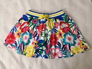 nwot Size 9-10y Mini Boden Skirt With Built In Shorts