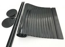100mm x 600mm Campervan Tambour Door Kit Motorhome Roller Door Gloss Black