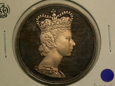 Canada 1964 Royal Visit Quebec Charlottetown Silver Medal  40mm Gorgeous! #G7730