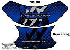 TH020BS , MOTOGRAFIX - Tankpad Tankprotektor , HONDA CBX 1100 , blau silber