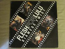 "FLESH FOR LULU SIAMESE TWIST 12"" ORIG '87 BEG 184T UK INDIE ALT ROCK VG+"