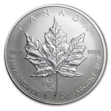 2006 Canada 1 oz Silver Maple Leaf Lunar Dog Privy - SKU #28082