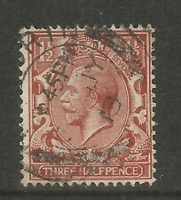 Great Britain 1912-13 King George V 1 1/2p red brown (161) fine used