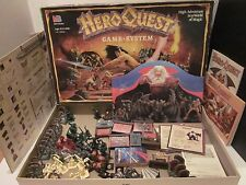 Hero Quest Board Game System Not Complete Milton Bradley 1990 Heroquest