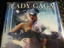 CD RARE Lady Gaga Lovegame CD Single Made in EU 2009