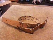 Gorgeous Ladies Studded Leather Betsey Johnson Belt Size M