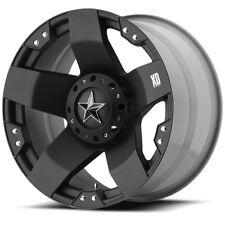 "20"" XD Series XD775 Rockstar Black Wheel 20x8.5 8x6.5 10mm Chevy GMC Dodge 8 Lug"