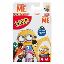 Despicable Me Minion Uno Card Game Brand New / Free Shipping