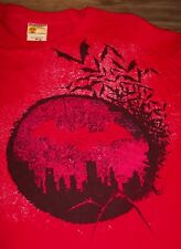 VINTAGE STYLE BATMAN Dc Comics CITY BATS T-Shirt MENS XL NEW