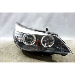 DAMAGED 2005-2007 BMW E60 5-Series M5 Front Right Xenon Headlight USED