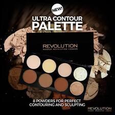 Makeup Revolution - ULTRA CONTOUR PALETTE+Highlight Powder Palette