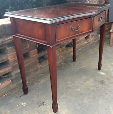 Good Quality Bow Fronted Reproduction Console Side Table