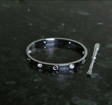 Real Stainless Steel Love Screwdriver Bangle Bracelet