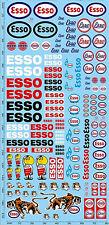 195 x 90 mm ESSO Sponsors Décalque #pp07-1 1:32 Décalque Décalcomanies
