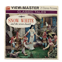 Vintage 1955 Snow White And The Seven Dwarfs View Master Reels Packet