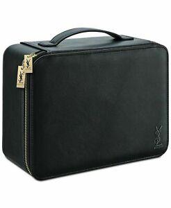 YSL Yves Saint Laurent Makeup Case Vanity Case Train Case Travel Bag Grand NIB