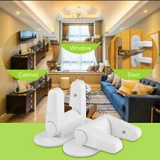 New Door Lever Lock Child Proof Door & Handle 3M Adhesive Child Safety 2 Pack Tj
