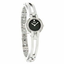 NEW Citizen Eco-Drive EW9990-54E Swarovski Crystals Black Dial Women's Watch