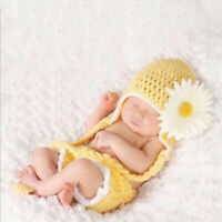 Newborn Baby Boy Girl Knit Clothes Photo Crochet Costume Photography Prop Outfit