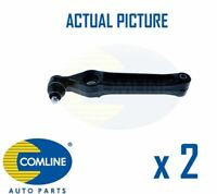 2 x NEW COMLINE FRONT LOWER TRACK CONTROL ARM WISHBONE PAIR OE QUALITY CCA3008