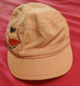 Girls Children's Army Style Fruit Hat Cap 12 To 24 Months