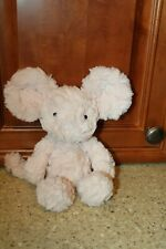 """JELLYCAT Mouse SQUIGGLE  Plush PInk 9"""" CUTE!"""