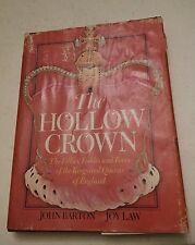 020 Book The Hollow Crown John Barton Follies Foibles Faces  King Queen England