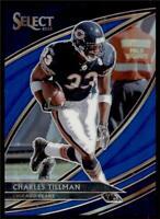 2019 Select Base Field Level Blue Prizm #290 Charles Tillman /75
