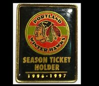 Portland Winter Hawks-Season Ticket Holder 1996-97, Minor Hockey - Logo pin
