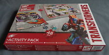 TRANSFORMERS ACTIVITY PACK CLIMB OR TUMBLE SPEL + PUZZEL PUZZLE compleet HASBRO