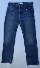 Levis 511 Slim Fit Jeans Boys Dark Wash Blue Pants Casual Size16 REG 28X28