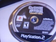 Guitar Hero III Legends of Rock Sony Playstation 2 PS2 Video Game Disc Only