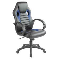 Executive Office Chair Sports Racing Gaming Swivel Leather Computer Desk Chair.
