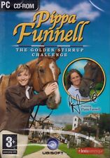 Pippa Funnell The Golden Stirrup Challenge BRAND NEW (PC CD-ROM)