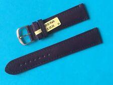 Vegi Kalb Uhrband Farbe Aubergine  20mm pflanzlich gegerbt Lederband Ersatzband
