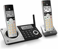 AT&T CL83207 DECT 6.0 Expandable Cordless Phone w/Answer Machine & 2 Handset NEW