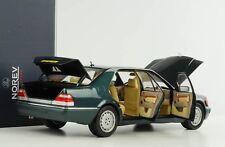 1997 Mercedes-Benz s600 v12 w140 Vert Metallic 1:18 Norev 183593