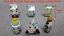 "Lot 6 Tokidoki Moofia Series 1 Cow Vinyl 1.5"" Mini Figure CHOCO MOU MOU MILK ETC"