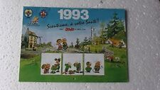CALENDRIER  SCOUT 1993  JOJO COMME NEUF